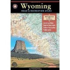 us topo - Benchmark Wyoming Road and Recreation Atlas Publisher: Benchmark Maps - Wide World Maps & MORE! - Book - Wide World Maps & MORE! - Wide World Maps & MORE!