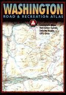 us topo - Washington Road & Recreation Atlas - Wide World Maps & MORE! - Book - Benchmark Electronics - Wide World Maps & MORE!