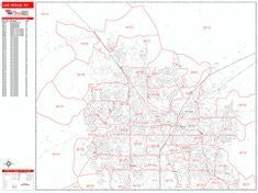 us topo - Las Vegas, NV Red Line Style All Streets & Highways Map - Wide World Maps & MORE! - Book - Wide World Maps & MORE! - Wide World Maps & MORE!