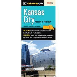 us topo - Kansas City Street Map - Wide World Maps & MORE! - Book - Wide World Maps & MORE! - Wide World Maps & MORE!