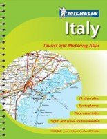 Italy Tourist and Road Atlas