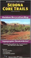 us topo - Sedona Core Trails Outdoor Recreation Map (Arizona Maps) - Wide World Maps & MORE! - Book - Wide World Maps & MORE! - Wide World Maps & MORE!
