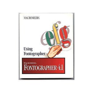 Using Fontographer: Macromedia Fontographer 4.1