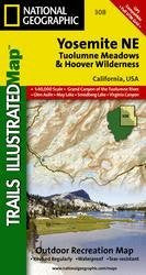 Yosemite Ne, Tuolumne Meadows & Hoover Wilderness, California, USA: Trails Illustrated Map: 1:40,000 Scale, Grand Canyon of the Tuolumne River, Glen A