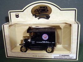 us topo - Chevron 1927 Pearl Oil Van Diecast Truck Vehicle - Wide World Maps & MORE! - Toy - Chevron - Wide World Maps & MORE!