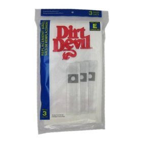 Genuine Dirt Devil Bags 3 Pack - Type E [Misc.] - Wide World Maps & MORE! - Home Improvement - Dirt Devil - Wide World Maps & MORE!