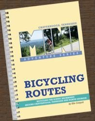 Bicycle Routes - Chattanooga - Wide World Maps & MORE! - Book - Wide World Maps & MORE! - Wide World Maps & MORE!