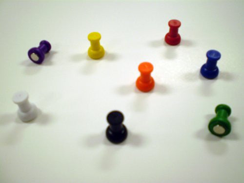 Just Hold-It! Super Strong Magnetic Push Pins