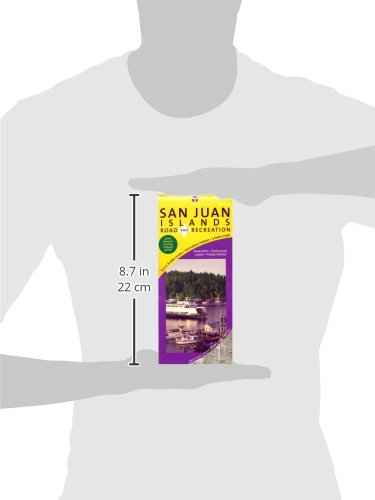 San Juan Islands Map, Road & Recreation, 7th Edition - Wide World Maps & MORE! - Book - Wide World Maps & MORE! - Wide World Maps & MORE!