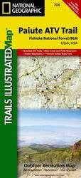 Paiute ATV Trail Fish Lake NationalForest/BLM Trail Map