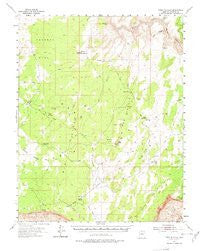 Paria Plateau, Arizona 15'×15' Topographic Quadrangle