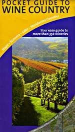 Pocket Guide to Wine Country: Napa - Sonoma - Lake - Mendocino Counties - Wide World Maps & MORE! - Book - Great Pacific Recreation Map - Wide World Maps & MORE!