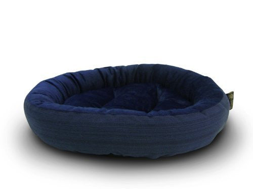 us topo - AKC Casablanca Round Solid Pet Bed - Wide World Maps & MORE! - Pet Products - American Kennel Club - Wide World Maps & MORE!