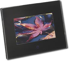 "Insignia™ 7"" Widescreen LCD Digital Photo Frame - Black"