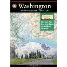 Benchmark Washington Road & Recreation Atlas (Benchmark Map: Washington Road & Recreation Atlas) Publisher: Benchmark Maps