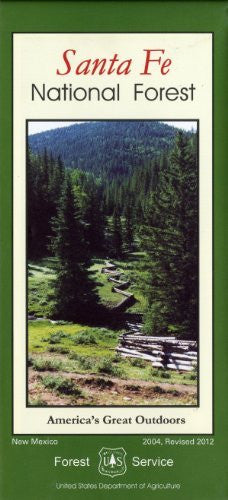 us topo - Santa Fe National Forest (America's Great Outdoors) - Wide World Maps & MORE! - Book - Wide World Maps & MORE! - Wide World Maps & MORE!