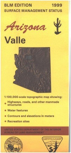 us topo - Valle, Arizona Surface Management Status - Wide World Maps & MORE! - Book - Wide World Maps & MORE! - Wide World Maps & MORE!