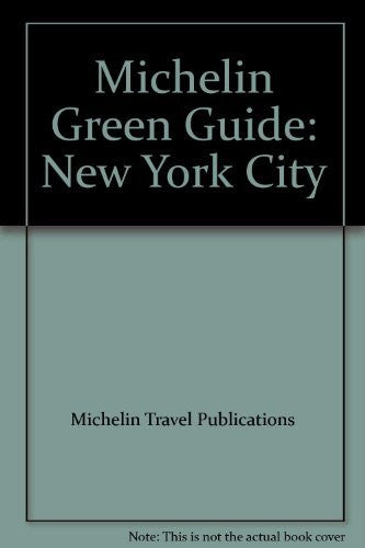 Michelin Green Guide: New York City
