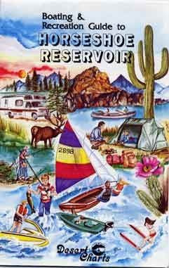 Boating & Recreation Guide to Horseshoe Lake - Wide World Maps & MORE!