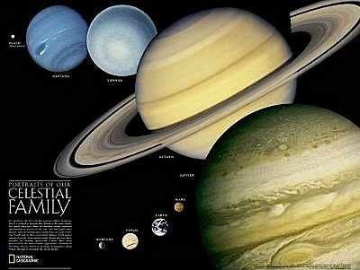 us topo - Portraits of Our Celestial Family/ The Solar System - Wide World Maps & MORE! - Book - Wide World Maps & MORE! - Wide World Maps & MORE!