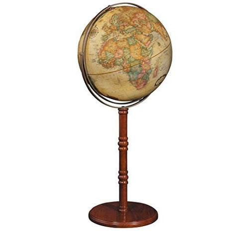 Replogle Globes Commander II Globe, 16-Inch, Antique-Style - Wide World Maps & MORE! - Globe - Replogle Globes - Wide World Maps & MORE!