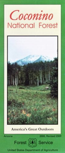us topo - Coconino National Forest Map - Waterproof - Wide World Maps & MORE! - Book - U.S. Forest Service - Wide World Maps & MORE!