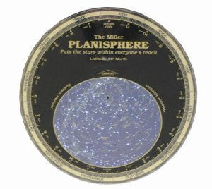 The Miller Planisphere 30 Degree North, Enlarged
