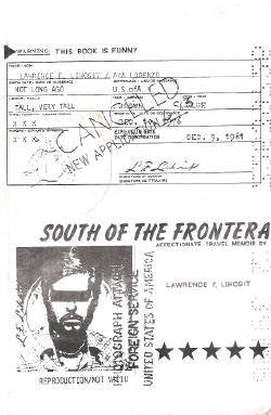 South of the Frontera; An Affectionate Travel Memoir