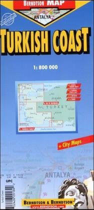 us topo - Turkish Coast - Wide World Maps & MORE! - Book - Wide World Maps & MORE! - Wide World Maps & MORE!