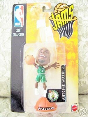 "1998-99 Mattel NBA Jams 3"" Figure - Antoine Walker - Wide World Maps & MORE! - Toy - Mattel - Wide World Maps & MORE!"