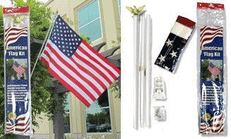 us topo - American Flag Kit - Wide World Maps & MORE! - Lawn & Patio - SE - Wide World Maps & MORE!