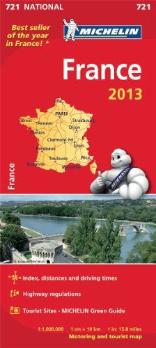 us topo - France 2013 (Michelin National Maps) - Wide World Maps & MORE! - Book - Wide World Maps & MORE! - Wide World Maps & MORE!