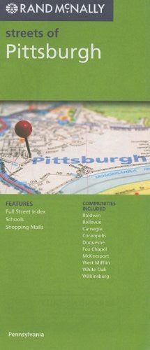 us topo - Rand McNally Streets of Pittsburgh, PA - Wide World Maps & MORE! - Book - Wide World Maps & MORE! - Wide World Maps & MORE!