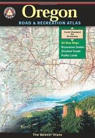 us topo - Benchmark Oregon Road & Recreation Atlas 4th (fourth) edition Text Only - Wide World Maps & MORE! - Book - Wide World Maps & MORE! - Wide World Maps & MORE!