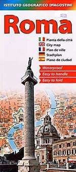 Roma (Rome) Waterproof Foldout Map