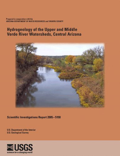 us topo - Hydrogeology of the Upper and Middle Verde River Watersheds, Central Arizona (SIR-2005-5198) - Wide World Maps & MORE! - Book - Wide World Maps & MORE! - Wide World Maps & MORE!