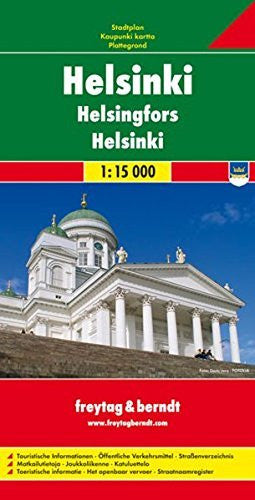 Helsinki (City Map) - Wide World Maps & MORE! - Book - Freytag & Berndt - Wide World Maps & MORE!