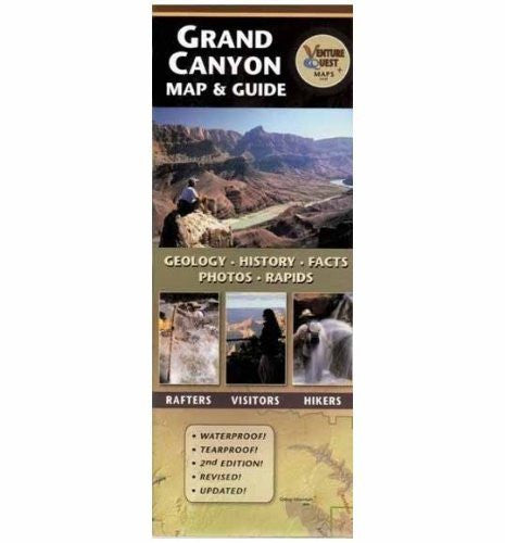 Grand Canyon Map & Guide - AZ
