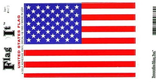 US Flag (5x8) decal for auto, truck or boat