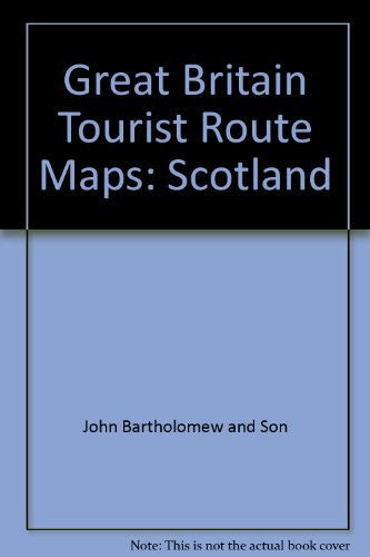Great Britain Tourist Route Maps: Scotland