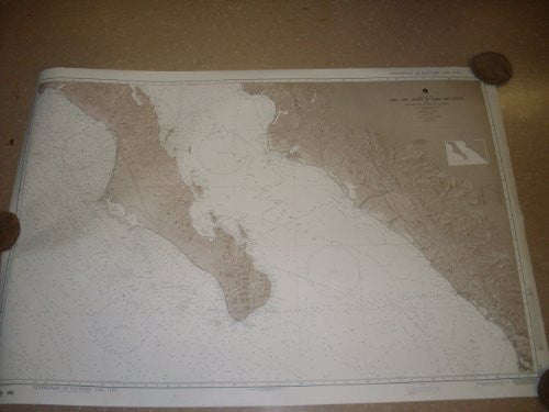 New - NOS Official Navigational Chart of Cabo San Lazaro to Cabo San Lucas (21ACO21014)