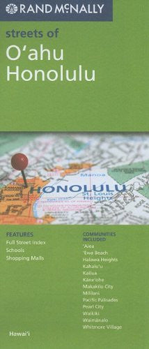Rand McNally Folded Map: O'ahu, Honolulu (Rand McNally Streets Of...)