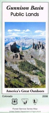 us topo - Gunnison Basin Public Lands (America's Great Outdoors) - Wide World Maps & MORE! - Book - Wide World Maps & MORE! - Wide World Maps & MORE!