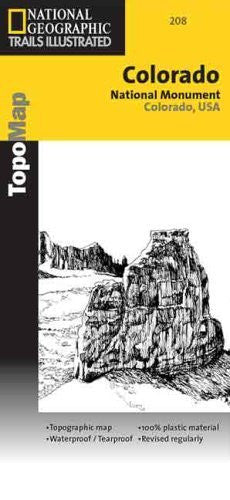 Colorado National Monument: Colorado, USA (National Geographic Maps: Trails Illustrated)