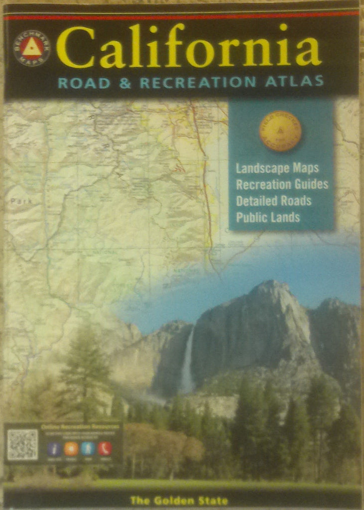 us topo - California Road & Recreation Atlas - Wide World Maps & MORE! - Map - Benchmark Maps - Wide World Maps & MORE!
