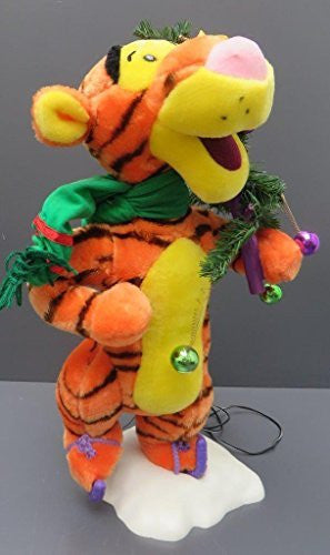 us topo - Animated Disney Tigger Christmas Tree Telco Motion-ette Doll - Wide World Maps & MORE! - Home - Telco - Wide World Maps & MORE!