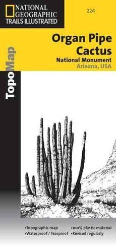 National Geographic, Trails Illustrated, Organ Pipe Cactus National Monument: Arizona, USA (Trails Illustrated - Topo Maps) - Wide World Maps & MORE! - Book - Wide World Maps & MORE! - Wide World Maps & MORE!