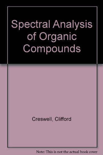 Spectral Analysis of Organic Compounds