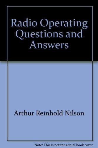 Radio Operating Questions and Answers - Wide World Maps & MORE! - Book - Wide World Maps & MORE! - Wide World Maps & MORE!