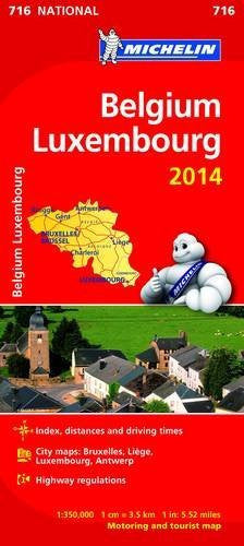us topo - Belgium and Luxembourg 2014 National Map 716 (Michelin National Maps) - Wide World Maps & MORE! - Book - Wide World Maps & MORE! - Wide World Maps & MORE!